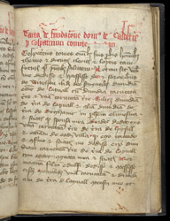 The Foundation Charter of Coldstream Priory, In The Coldstream Cartulary